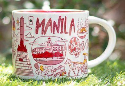 Starbucks Been There Manila mug