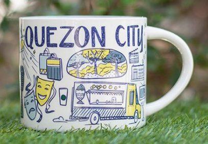 Starbucks Been There Quezon City mug
