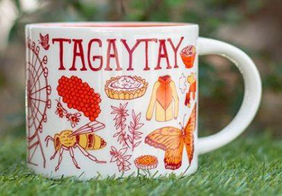Starbucks Been There Tagaytay mug