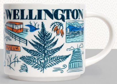 "STARBUCKS New Zealand Wellington /""Been There Series/"" MUG"