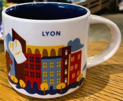 Starbucks You Are Here Lyon mug