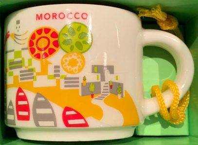 Starbucks You Are Here Ornament Morocco mug