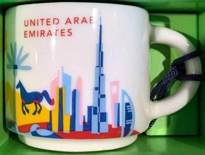 Starbucks You Are Here Ornament United Arab Emirates mug