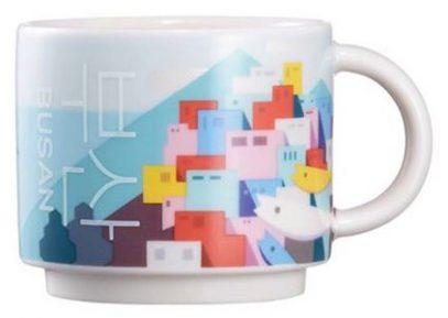 Starbucks Real Korea City Demi Busan (town) mug