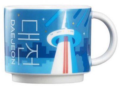 Starbucks Real Korea City Demi Daejeon mug