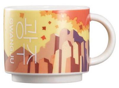 Starbucks Real Korea City Demi Gwangju mug