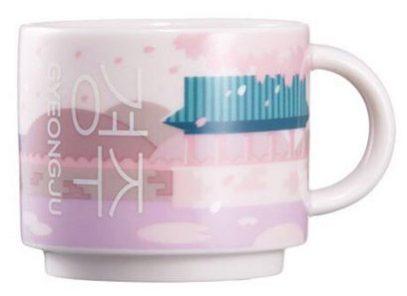 Starbucks Real Korea City Demi Gyenongju mug