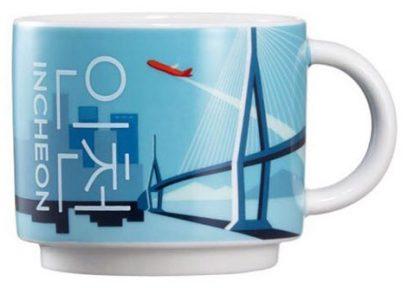 Starbucks Real Korea City Demi Incheon mug