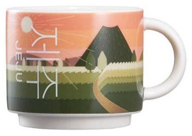 Starbucks Real Korea City Demi Jeju (sunrise) mug