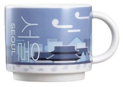 Starbucks Real Korea City Demi Seoul (palace) mug