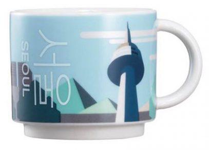 Starbucks Real Korea City Demi Seoul (tower) mug