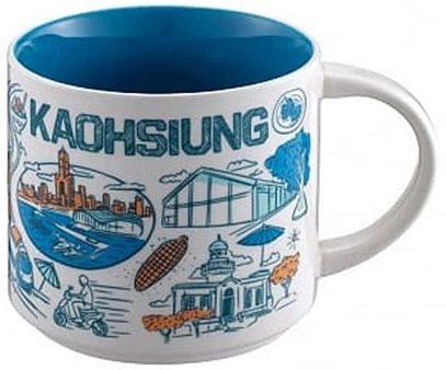 Starbucks Been There Kaohsiung mug