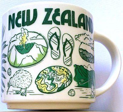 STARBUCKS  Auckland New Zealand Been There Series Mug BTS NWT RARE