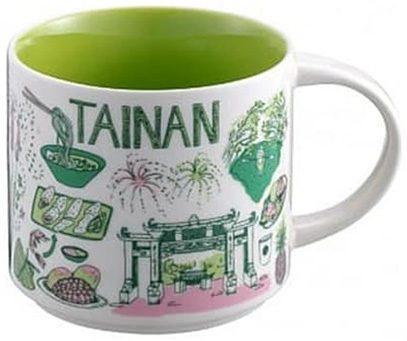Starbucks Been There Tainan mug