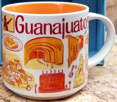 Starbucks Been There Guanajuato mug