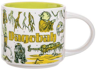 Starbucks Star Wars Been There Dagobah mug