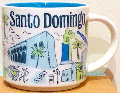 Starbucks Been There Santo Domingo mug