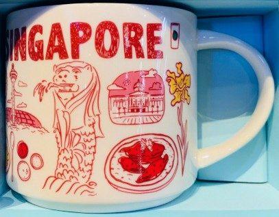 Starbucks Been There Singapore mug