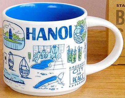 Starbucks Been There Hanoi mug