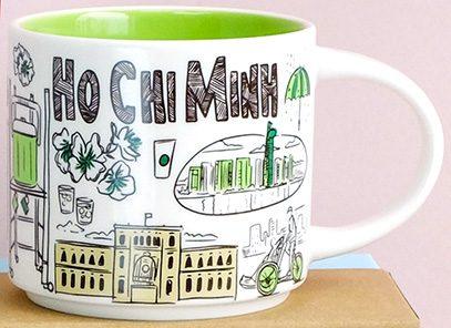 Starbucks Been There Ho Chi Minh mug