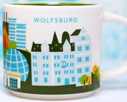 Starbucks You Are Here Wolfsburg mug