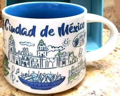 Starbucks Been There Ciudad de Mexico mug