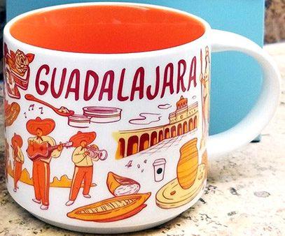 Starbucks Been There Guadalajara mug
