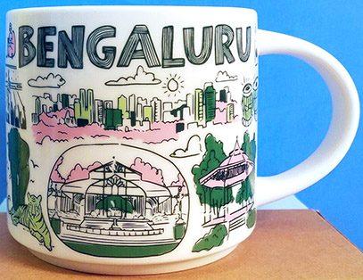 Starbucks Been There Bengaluru mug