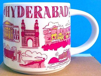 Starbucks Been There Hyderabad mug