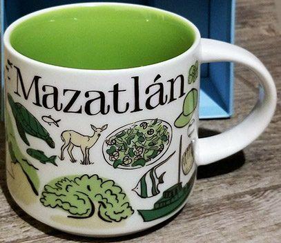 Starbucks Been There Mazatlan mug