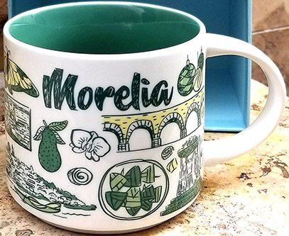 Starbucks Been There Morelia mug