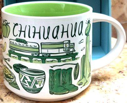 Starbucks Been There Chihuahua mug