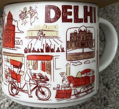 Starbucks Been There Delhi mug