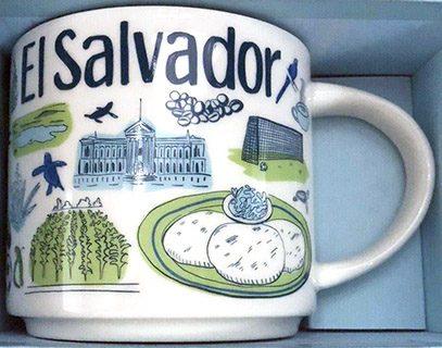 Starbucks Been There El Salvador mug