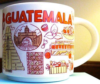 Starbucks Been There Guatemala mug
