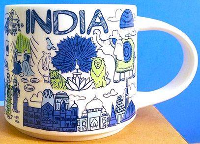 Starbucks Been There India mug