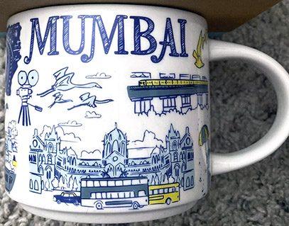 Starbucks Been There Mumbai mug