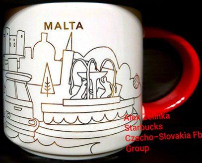 Starbucks You Are Here Christmas Malta mug