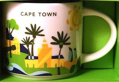 Starbucks You Are Here Cape Town mug