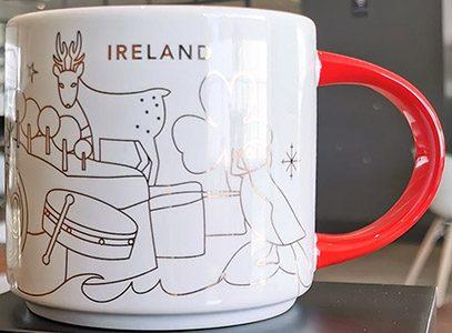 Starbucks You Are Here Christmas Ireland mug