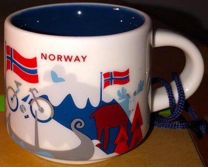 Starbucks You Are Here Ornament Norway mug