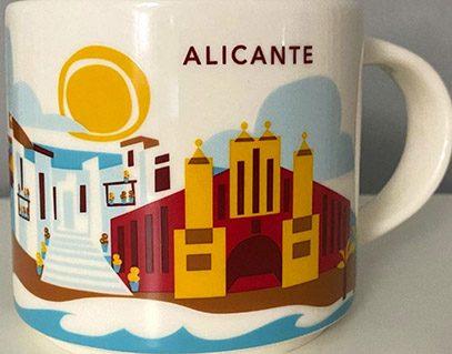 Starbucks You Are Here Alicante mug