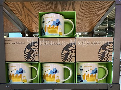 Starbucks YAH Schiphol is now available in stores mug