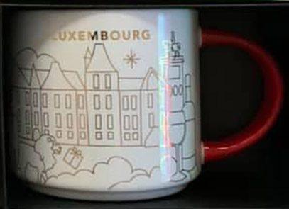 Starbucks You Are Here Christmas Luxembourg mug