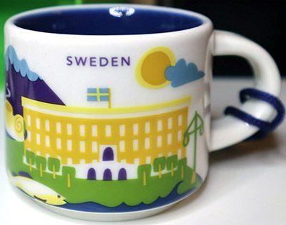 Starbucks You Are Here Ornament Sweden mug