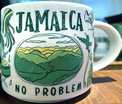Starbucks Been There Jamaica mug