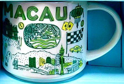 Starbucks Been There Macau mug
