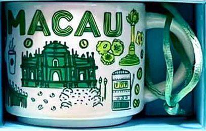 Starbucks Been There Ornament Macau mug