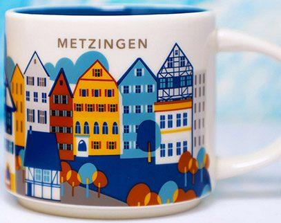 Starbucks You Are Here Metzingen mug