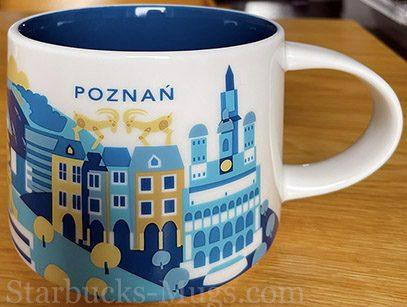 Starbucks You Are Here Poznań mug